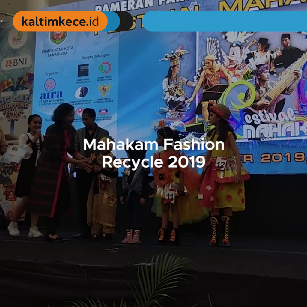 Mahakam Fashion Recycle 2019