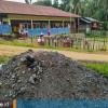 Kepungan Tambang di SD Filial 004 Samarinda Utara, Ekskavator pun Parkir Depan Sekolah