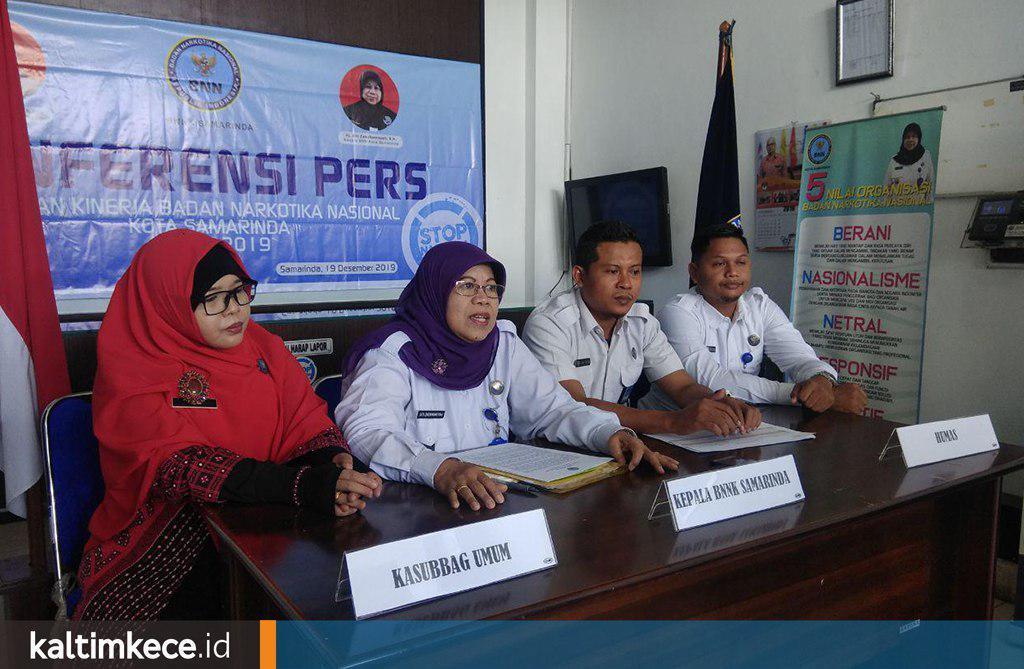 Penindakan Kasus Narkoba BNNK Samarinda, Dua Tahun Terakhir Didominasi Pekerja Swasta