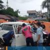 Mengemudi saat Mabuk, Taksi Online Tercebur ke Sungai Mahakam, Tak Ada Korban Jiwa